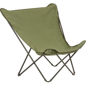 Lafuma Mobilier Pop Up XL Campingstol Airlon + Uni grøn/sort